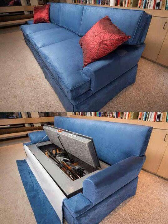 Perfect place to hide your zombie killing tools...;-)