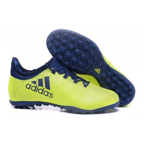 low priced 49e42 773eb Baratas Adidas X 17-3 TF Botas De Futbol Amarillo Azul