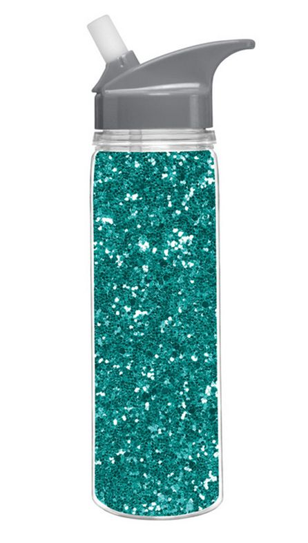 df686b4b23 Turquoise Glitter Insulated Water Bottle | Cute Girly Gift for Teen Girl,  Girlfriend, Mom, Whimsical Girly Water Bottle, Blue Sparkle| Catching  Fireflies