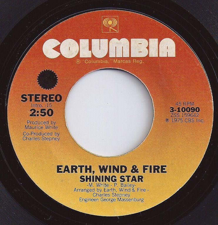 Shining Star / Earth, Wind & Fire / 1 on Billboard 1975