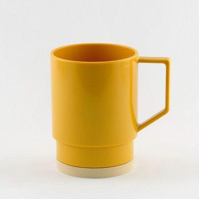 Galleyware  Company Non-skid 12 oz. Nesting Mug Color: Mustard