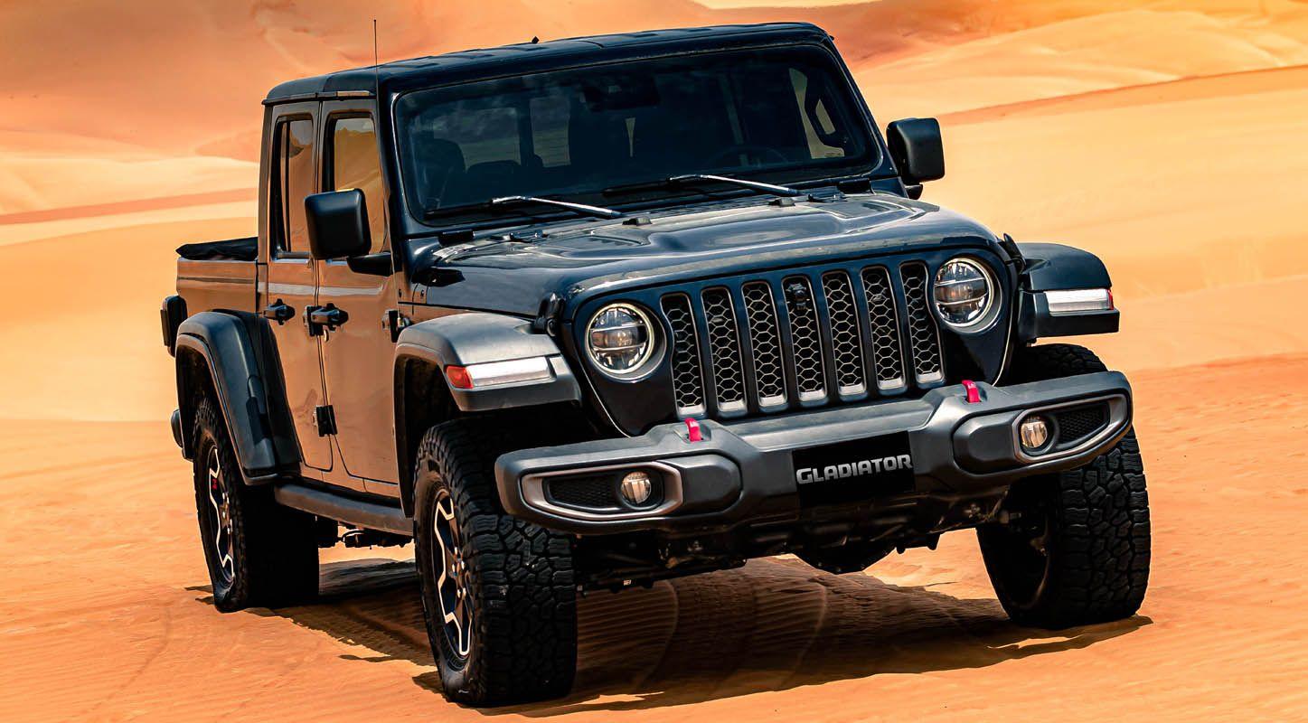 إطلاق جيب غلاديتور 2020 الجديدة كليا في أضخم مهرجان للقيادة على الطرقات الوعرة في المنطقة موقع ويلز Jeep Gladiator Built Jeep Jeep Dealer