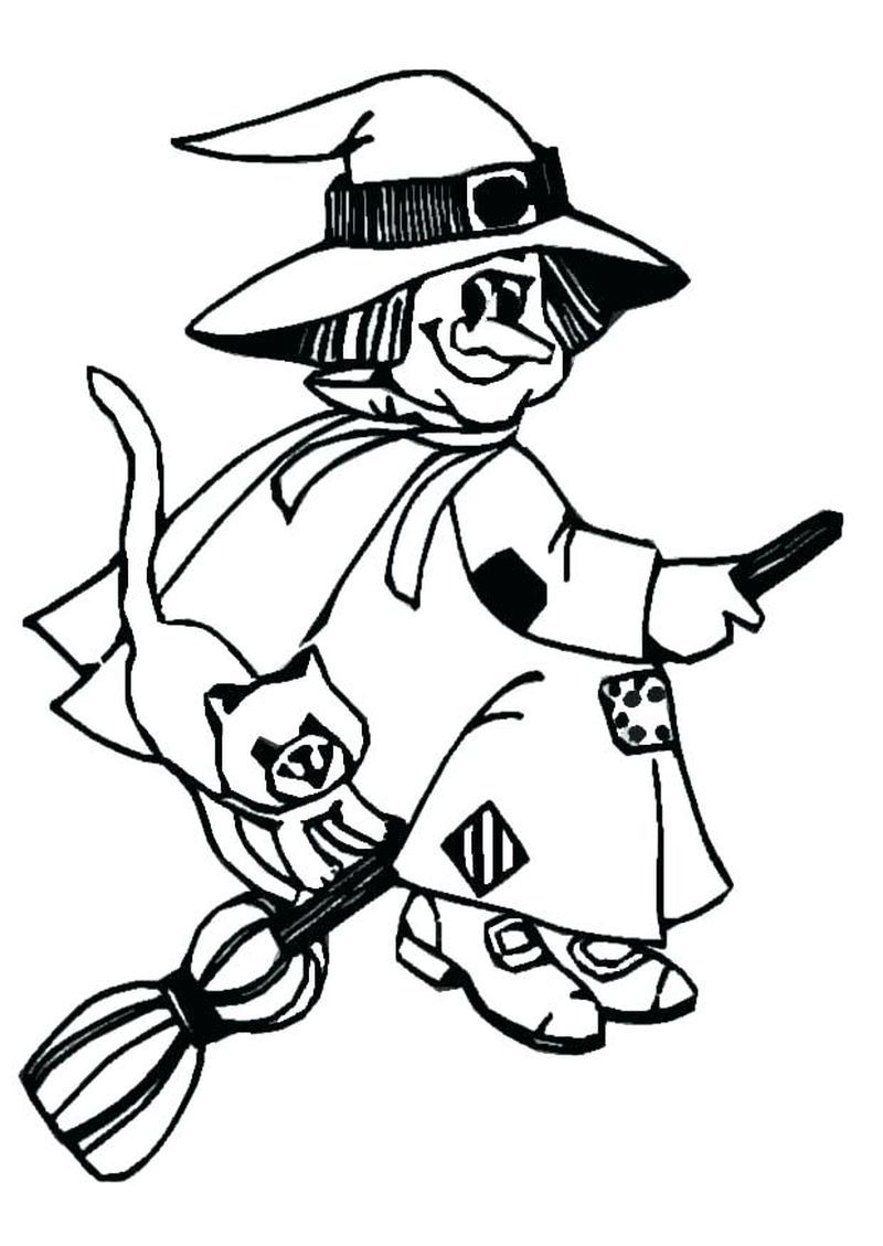 Little Witch Academia Coloring Pagesprintable In Contrast To The Harry Potter Series Which St In 2021 Witch Coloring Pages Halloween Coloring Pages Halloween Coloring