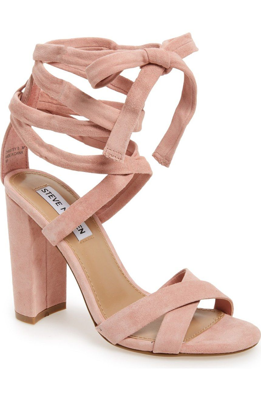 a3fb6c071ef ... heel grounds this trend-right suede sandal topped with crisscrossing  toe straps and leg-flattering wraparound ankle ties. found at  nordstrom   nordstrom