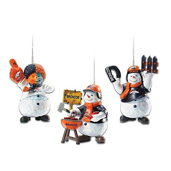 Denver Broncos Coolest Fans Ornament Collection | Denver ...