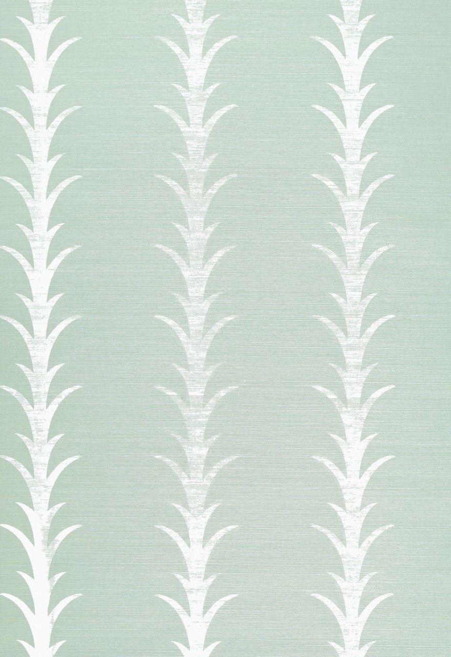 Lynn Chalk - Celerie Kemble Acanthus Stripe Seaglass