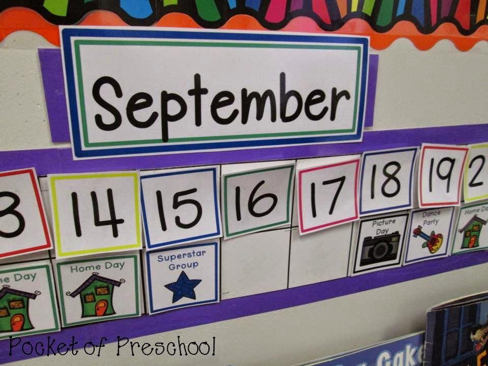 Linear Calendar In Kindergarten : How to make and implement a linear calendar add classroom