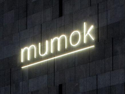 Mumok Museum Moderner Kunst Stiftung Ludwig Wien Vienna Austria Vienna Neon Signs Museum