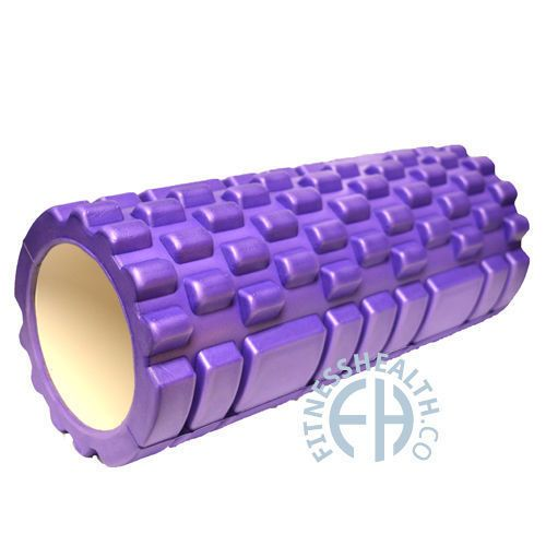 33 cm - FITNESS HEALTH ® TRIGGER POINT FOAM ROLLER GRID SPORTS EXERCISE MASSAGE in Sporting Goods, Fitness, Running & Yoga, Equipment & Accessories | eBay