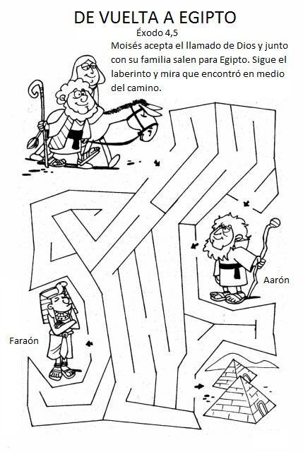 manualidades moises y la zarza - Google Search | ilustraciones ...