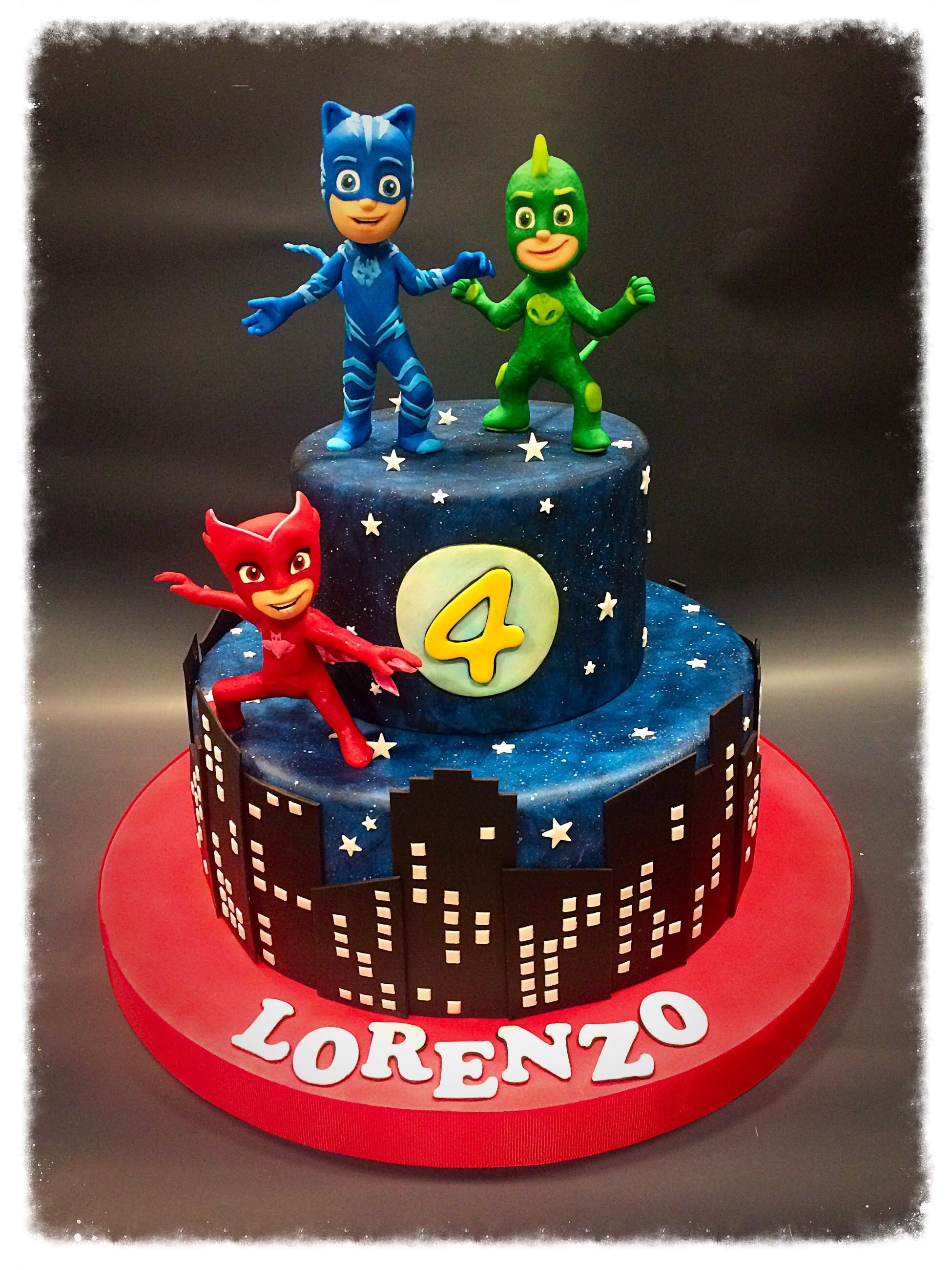 pantofi de separare preturi ieftine magazin online Torta lolo   Pj masks birthday cake, Party cakes, Pj mask cupcakes