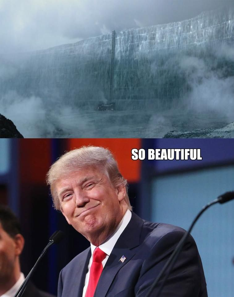 Funny Donald Trump Wall Memes : Game of thrones donald trump funny meme