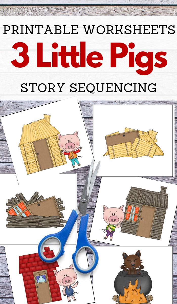 Three Little Pigs Story Sequencing Printable Cards Three Little Pigs Story Little Pigs Three Little Pigs [ 1200 x 700 Pixel ]
