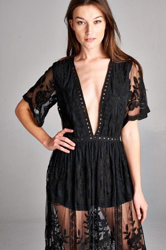 Beautiful Lace Chloe Dress Boho Chic
