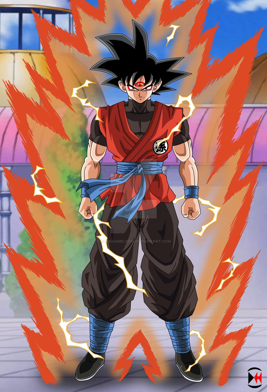 Commission 8 Goku S New Form Background By Darkhameleon On Deviantart Anime Dragon Ball Super Dragon Ball Super Manga Dragon Ball Image