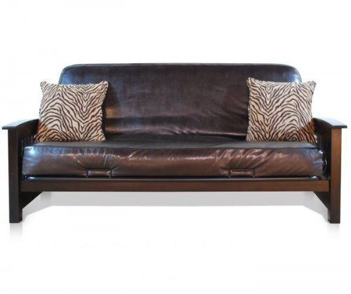 woven full size futon cover with pillow pack  tiger brown by american furniture alliance  woven full size futon cover with pillow pack  tiger brown by      rh   pinterest