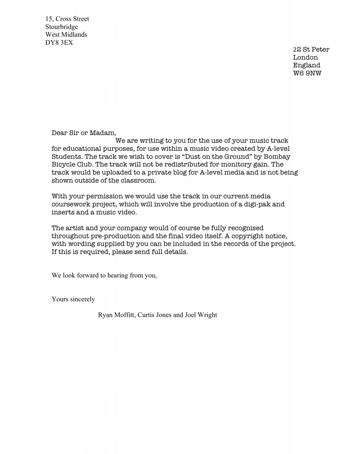 11 Format Letter Video in 2020 Business letter format