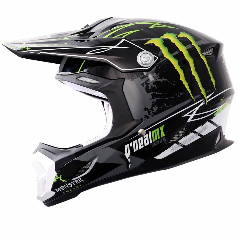 002f1919 Oneal 712 Monster Energy Motocross Helmet Description: The O'Neal 712  Monster Energy Helmet