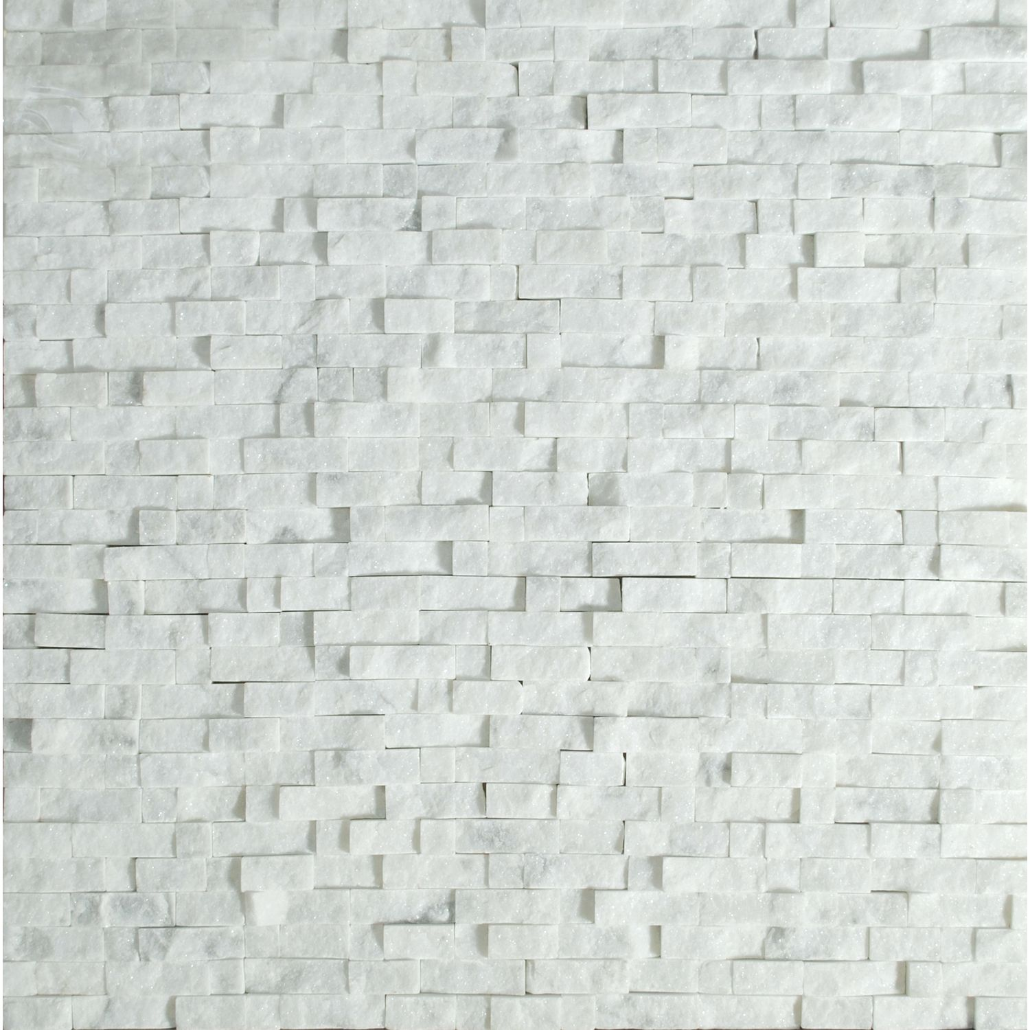 12X12 Decorative Tiles Prepossessing Tesoro 12 X 12 Carrara Micro Mosaic Sheet From Split Face Design Decoration