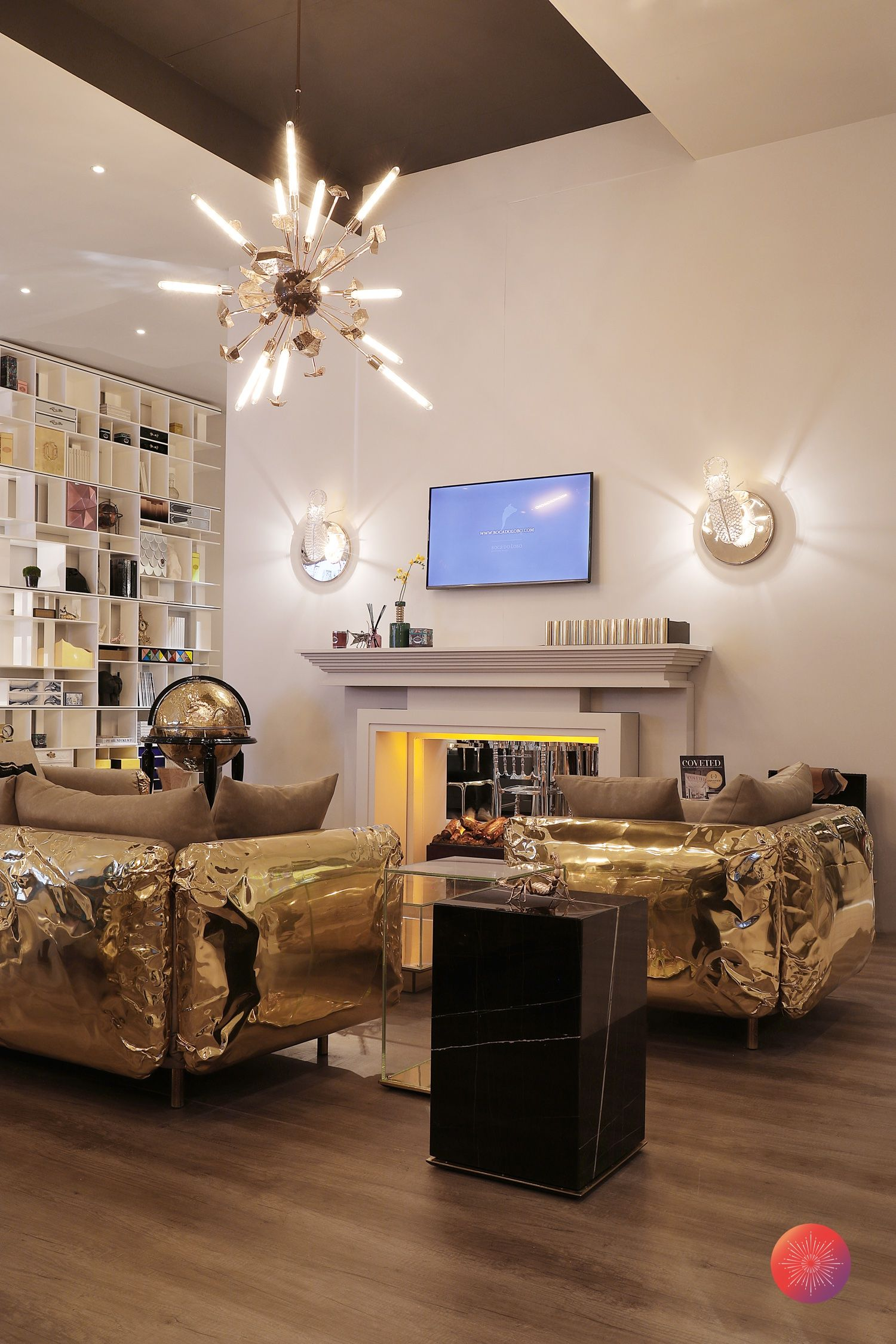 Boca Do Lobo The Best Italian Design Week Already Started And We  # Muebles Ytosa Salones
