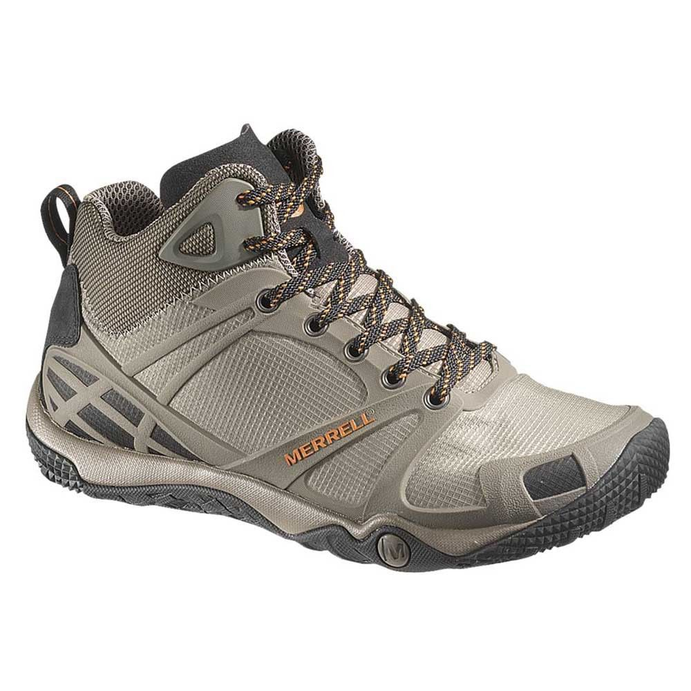 48293e8fcdc0f Merrell Tennis Shoes On Sale | Merrell Mens Proterra Mid Sport Barefoot  Hiking Boots