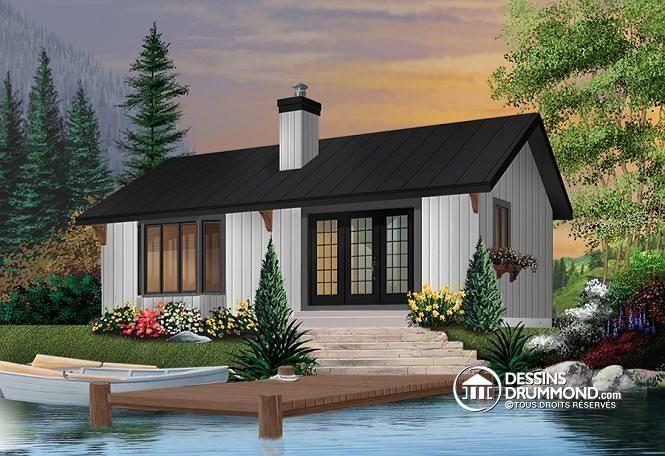 Plan de maison no W2923 de dessinsdrummond MAISON Pinterest - site pour plan de maison
