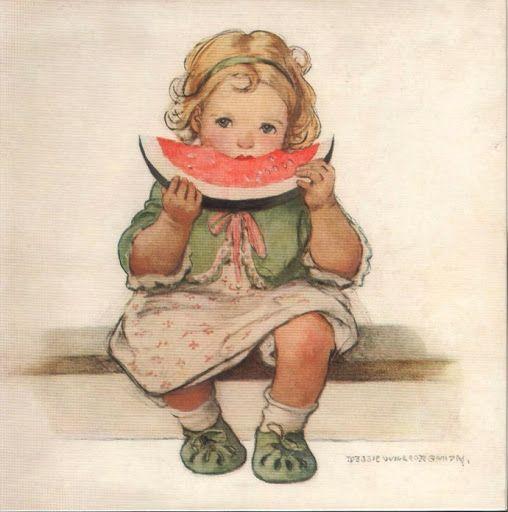 Loves watermelon