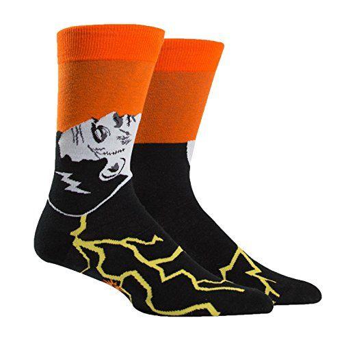 Sock It To Me Frankenstein's Sockster Mens Crew Socks