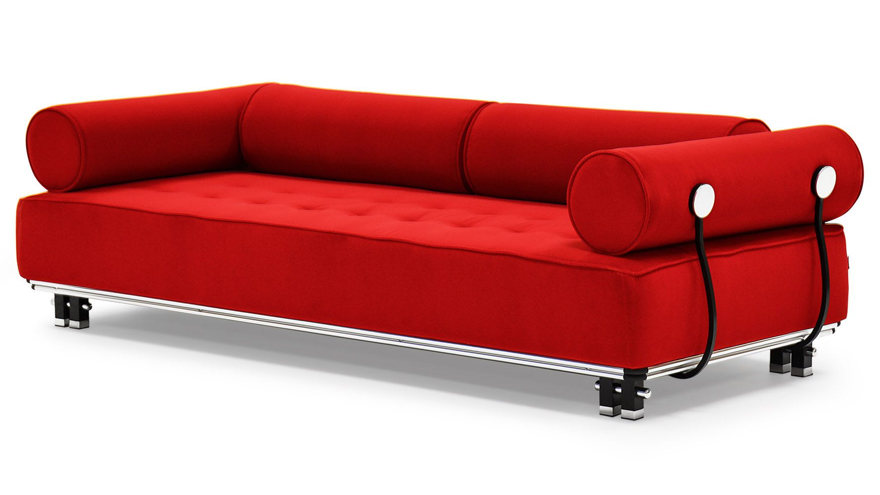 Joybird Briar Mid Century Modern Red Sofa 1 279 Liked On Polyvore Featuring Home Fur Modern Red Sofas Mid Century Style Furniture Mid Century Style Sofas