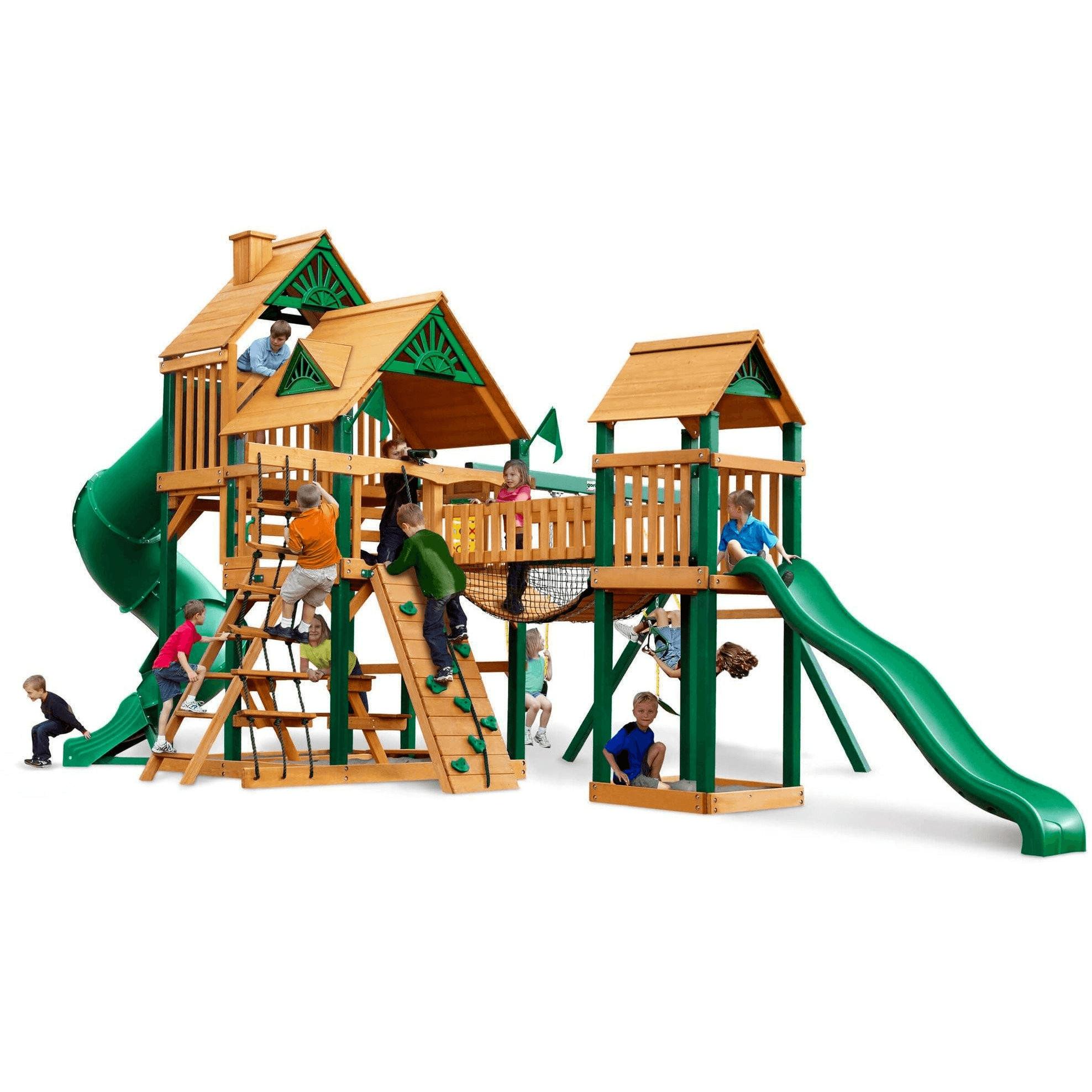 Best Treasure Trove I Swing Set Optional Treehouse Various 400 x 300