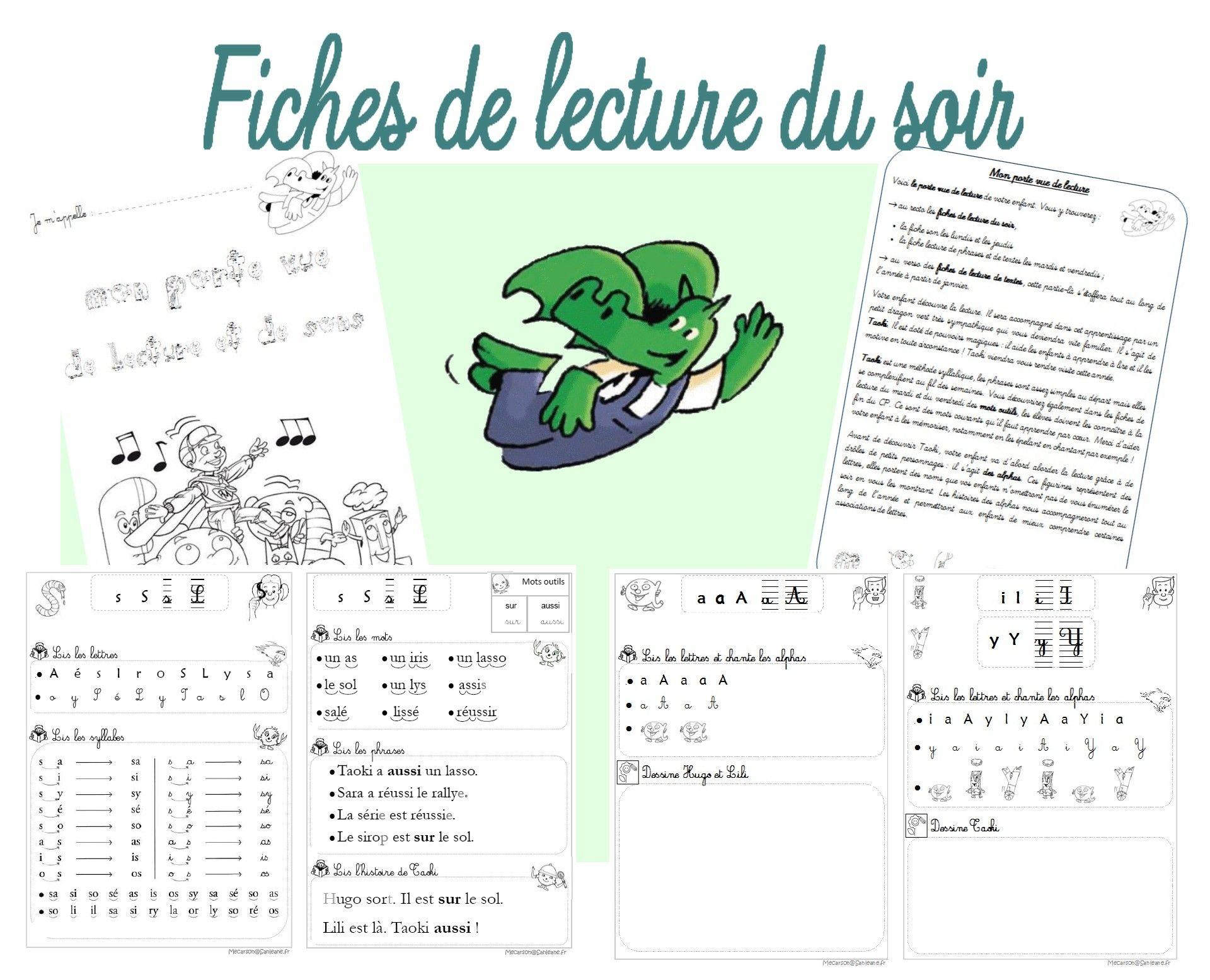 Epingle Sur Lecture Cp