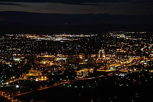 View From Mill Mountain Star Roanoke Virginia With Images