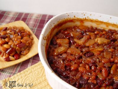 how to prepare baked beans from a can