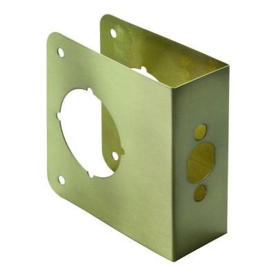 First Watch Security 2-3/4 in. x 1-3/4 in. Antique Brass ...