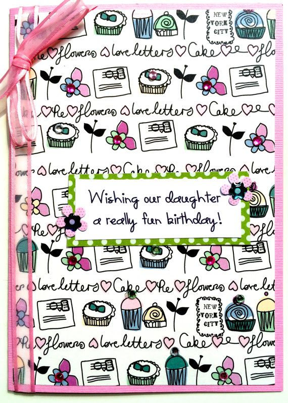 Happy Birthday Card For Friend Daughter Granddaughter Sister Teenager May Be Personalized