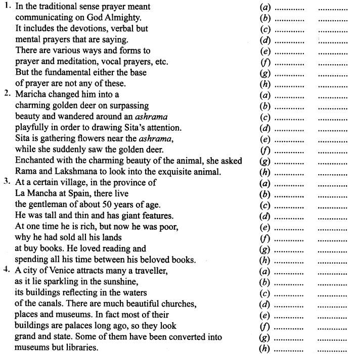 Class 6 Science worksheets Crossword puzzles Fun with