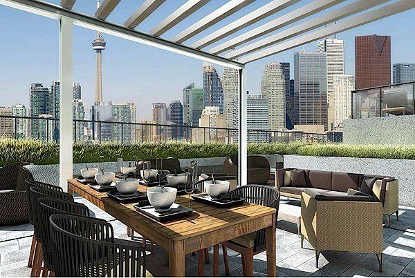 Roof Terrace Luxury Condo New Condo Rooftop