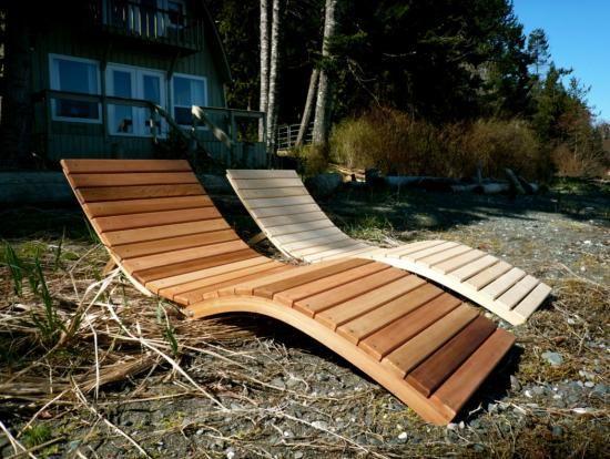 Bentwoodwork Holzliege Diy Mobel Ideen Gartenliege Holz