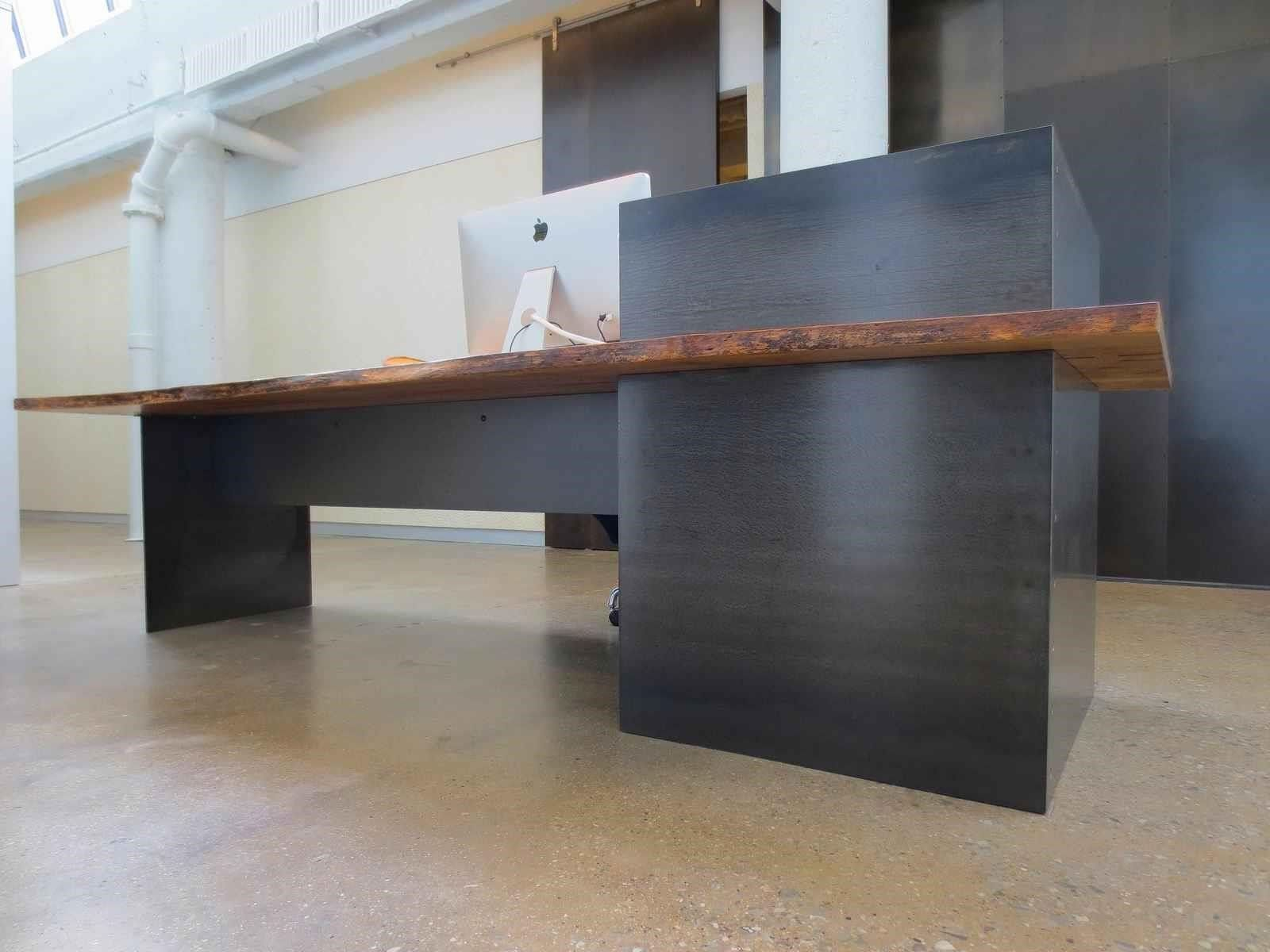 mid century reception desk Google Search