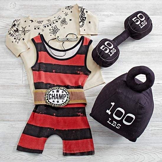 Weightlifter Dress Up Kids Costume | The Land of Nod