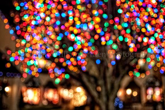Amerikanische Weihnachtsbeleuchtung.Christmas Lights Background Digital By Williambrittenphoto On Etsy