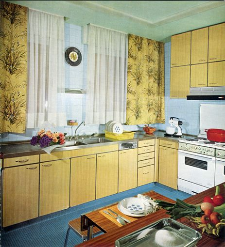cuisine de la marque calux en formica de 1966 cuisine formica pinterest cuisine vintage. Black Bedroom Furniture Sets. Home Design Ideas