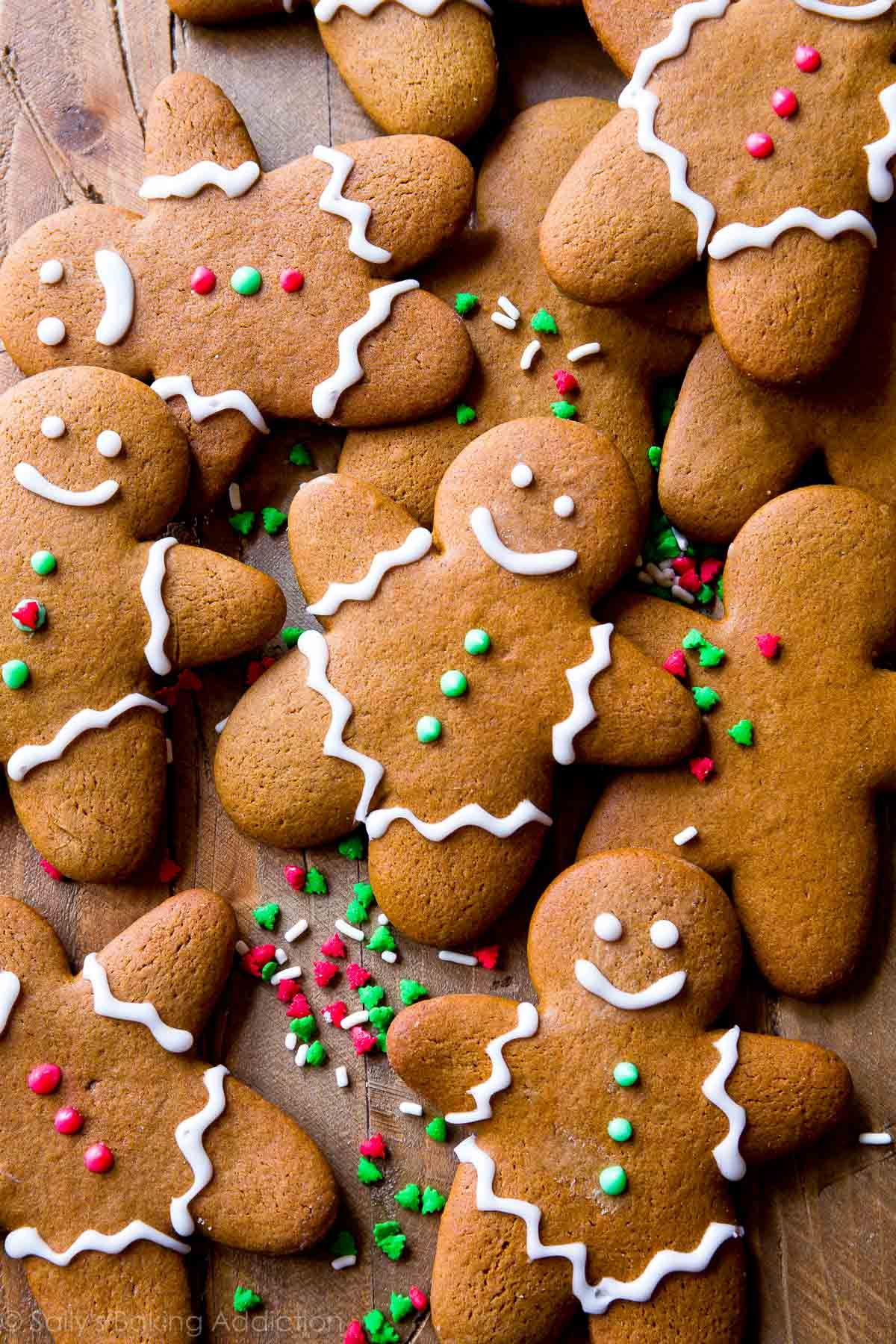 My Favorite Gingerbread Cookies | Sally's Baking Addiction #gingerbreadcookies
