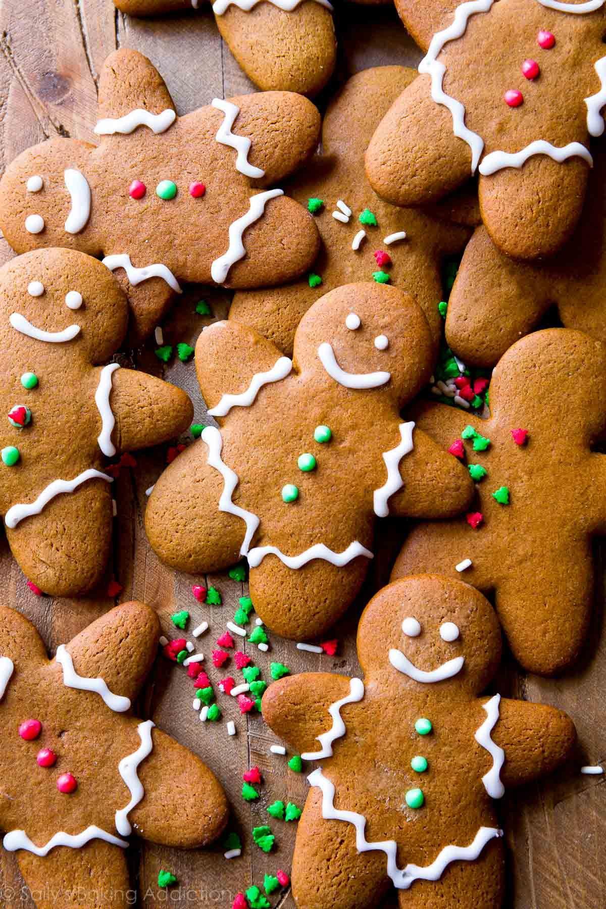 My Favorite Gingerbread Men Recipe cookies Easy