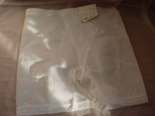 Vintage J C Penney White Panty Panti Girdle XL Instant Shaping Shape Wear NEW