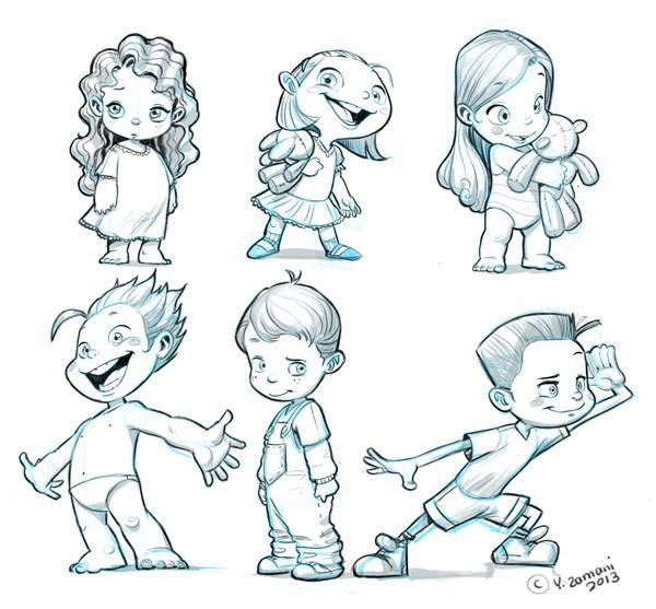 little kids are hard to draw by youssef zamani