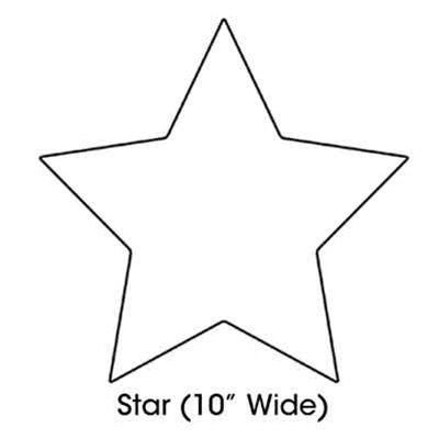 photograph regarding Printable Star Shape known as Printable Star Form Slice Out Templates Printable star
