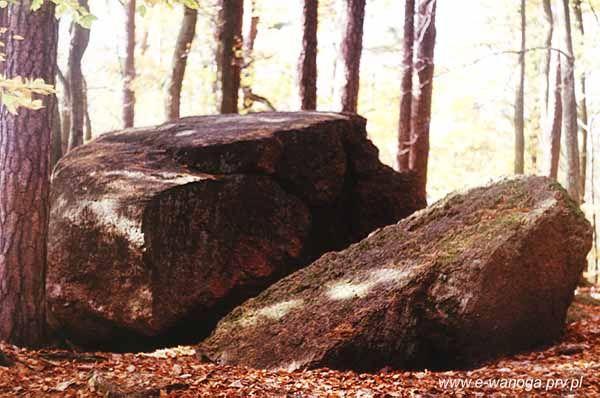 Diabelski Kamień nad Doliną Radości (pod Czarcią Górą) / Devil's Rock (Joy Valley)