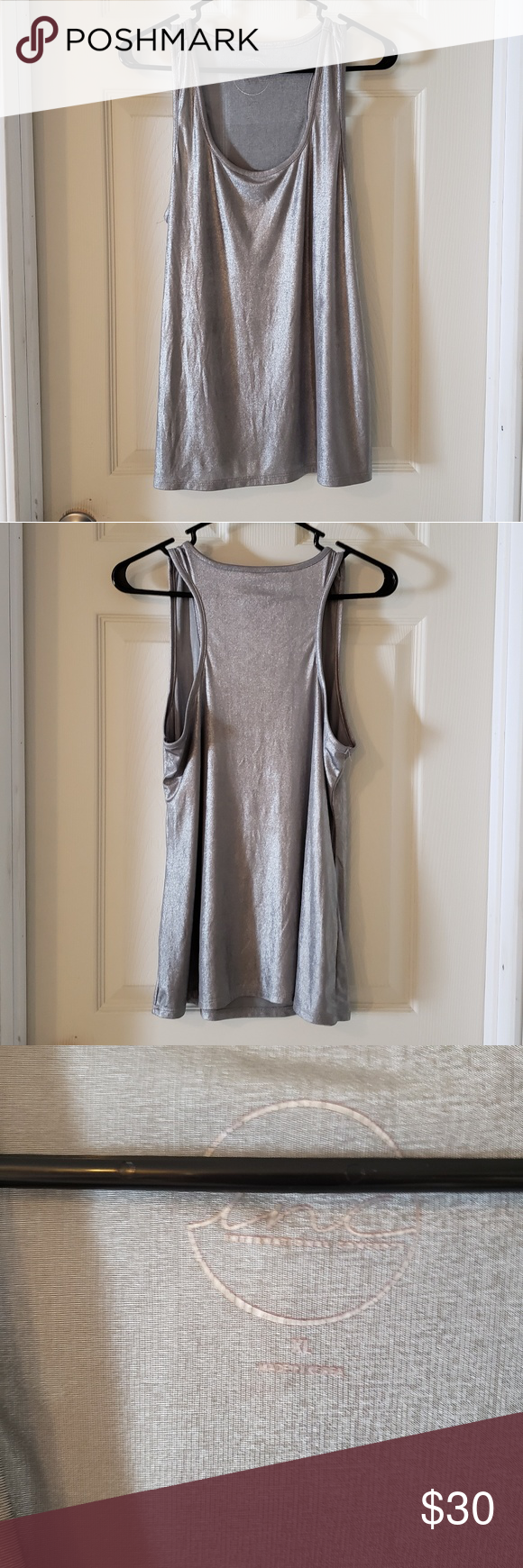 2530a40a9f31f INC International Concepts shimmery tank top INC International Concepts  shimmery tank top