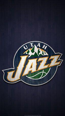 Utah Jazz Mobile Hardwood Logo Wallpaper Basketball Wallpaper Basketball Wallpapers Hd Logo Basketball